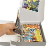 comic boxes and binders