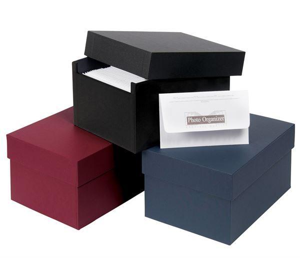Photo storage boxes