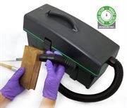 HEPA Filtered Museum Vac with variable suction