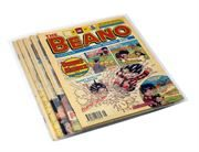 Mylar Polyester Comic Bags for Beano, Dandy and 2000AD comics