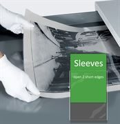 Polyester clear Sleeves