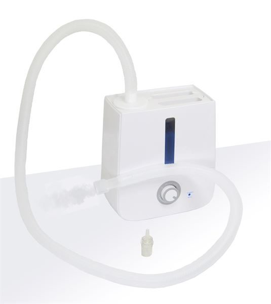 Ultrasonic humidifier with hose kit