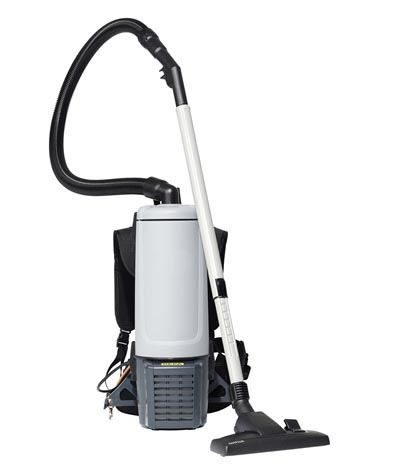 Hepa backpack vacuum