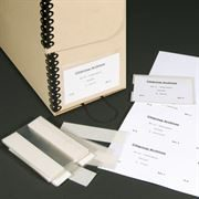 Archival Box Labelling System