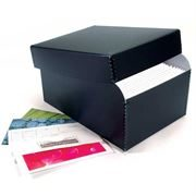 Archival photo file box